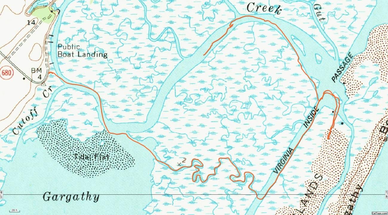 GPS Topo Map