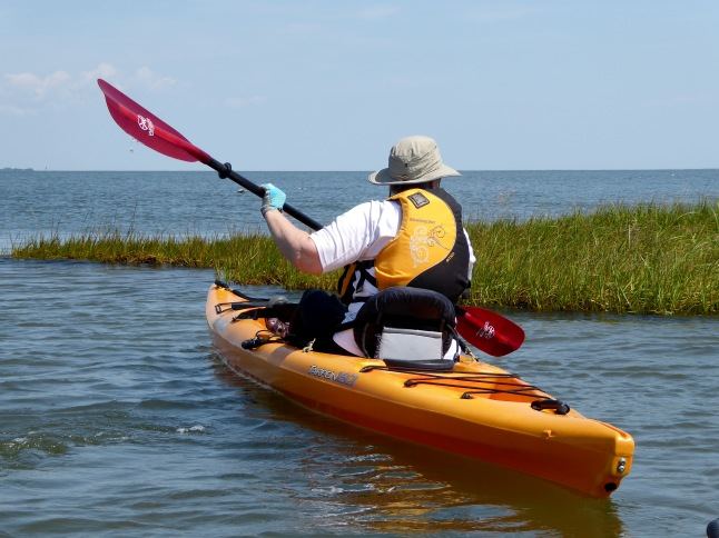 Paddling around a point