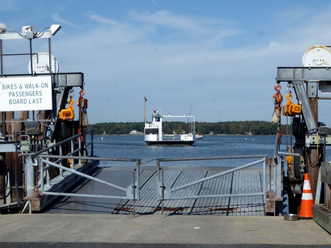 Oxford Ferry approaching the dock