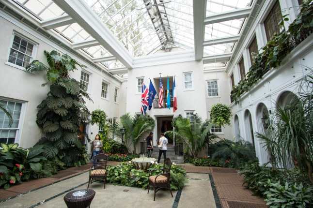 Inside the Conservatory Middle
