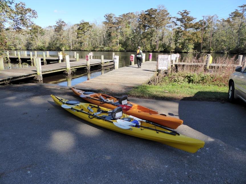 Dividing Creek Put-In