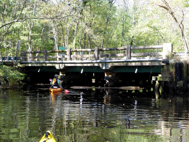 Bridge on Dividing Creek Road