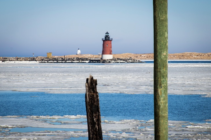East End Lighthouse and the Harbor of Refuge Lighthouse