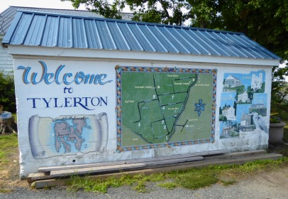 Tylerton Welcome Sign