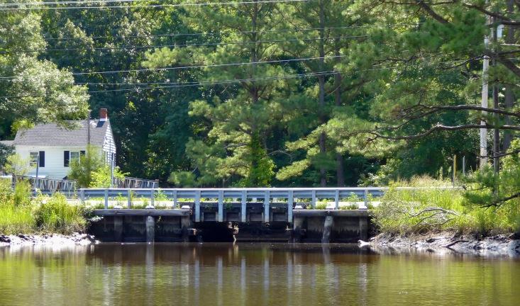 Bridge at Rt. 349 - our turnaround point.